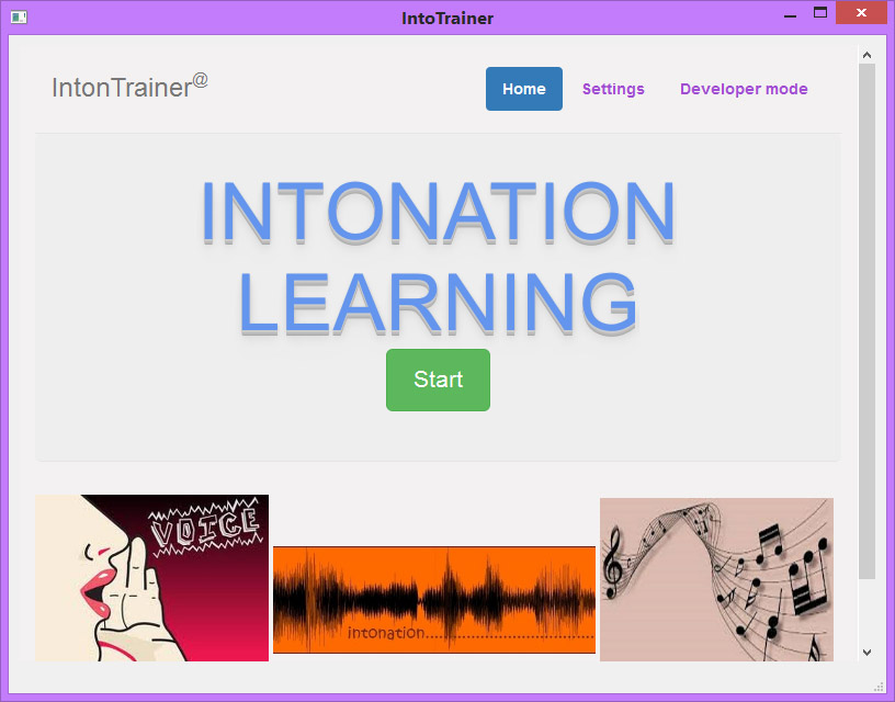 «IntonTrainer» - компьютерная система обучения интонации устной речи